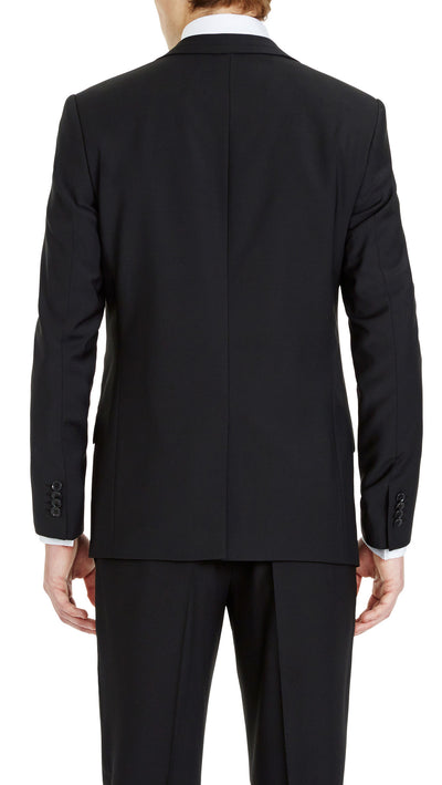 Blackjacket Skinny Fit Suit in Black - Ron Bennett Menswear  - 4