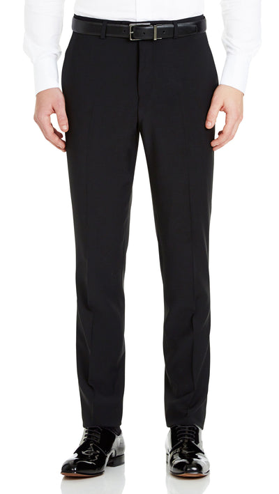 Blackjacket Skinny Fit Suit in Black - Ron Bennett Menswear  - 5