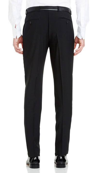 Blackjacket Skinny Fit Suit in Black - Ron Bennett Menswear  - 6