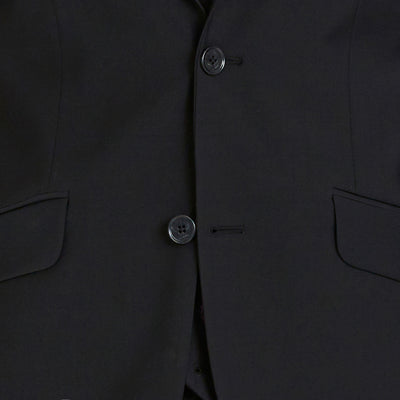 Blackjacket Skinny Fit Suit in Black - Ron Bennett Menswear  - 7