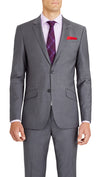 Blackjacket Skinny Fit Suit in Grey - Ron Bennett Menswear  - 3