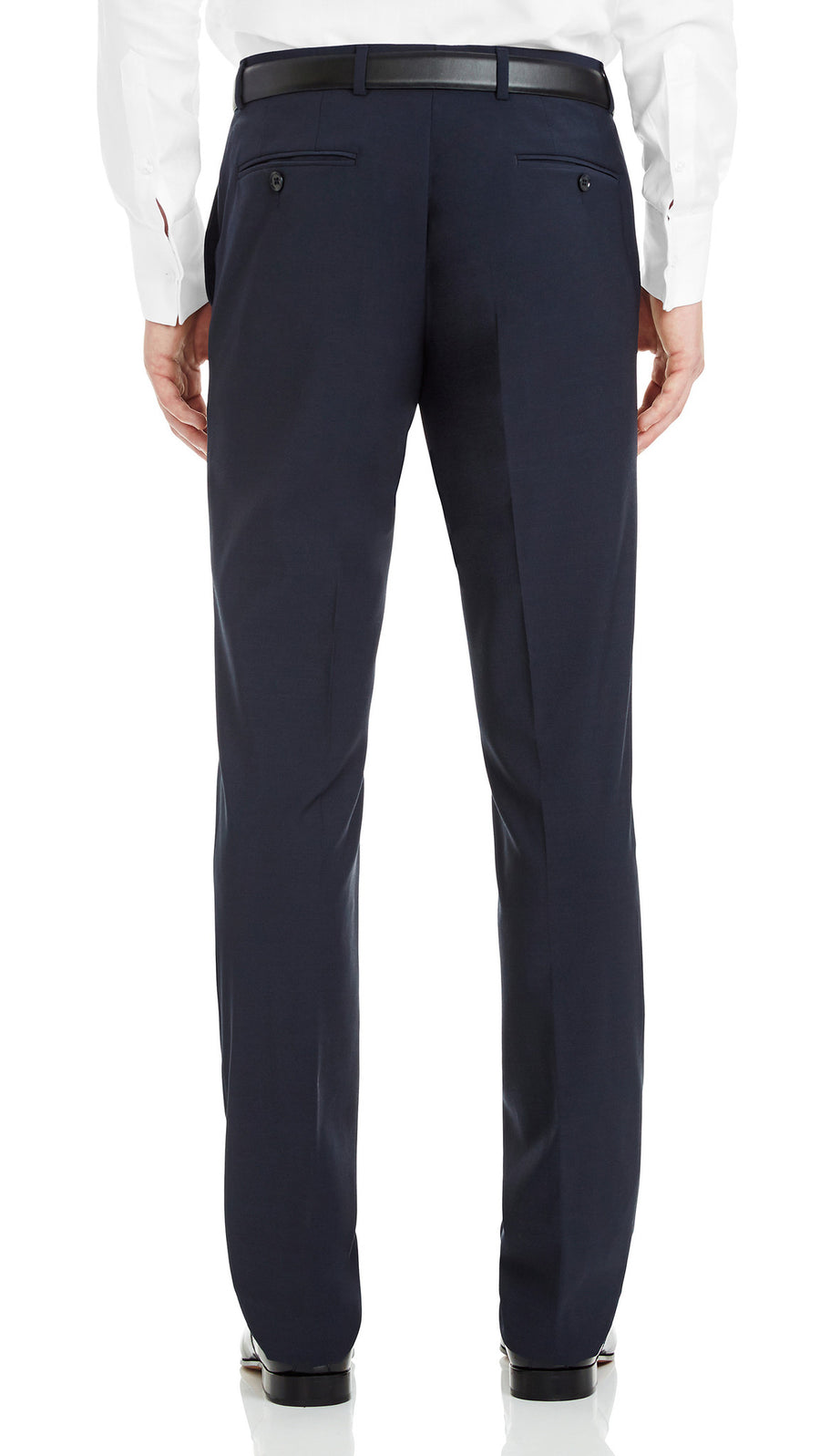 Blackjacket Slim Fit Trousers in Dark Blue - Ron Bennett Menswear  - 1