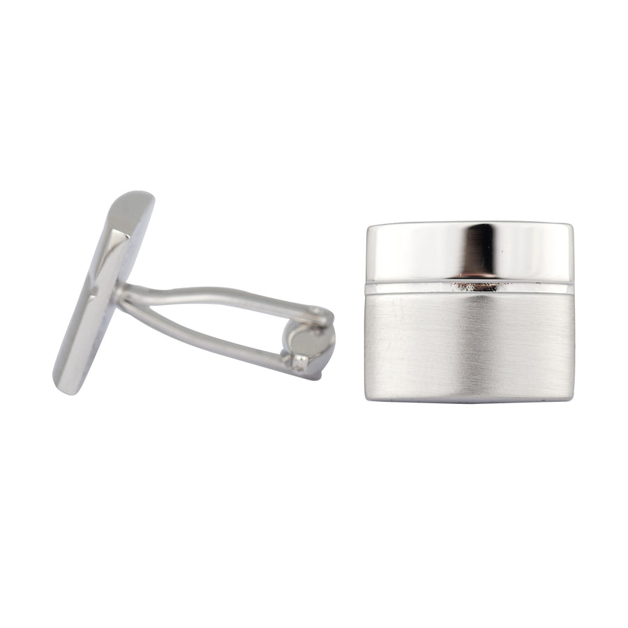 Ron Bennett Cufflinks in Silver - Ron Bennett Menswear