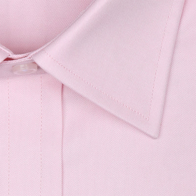Bennett Signature Business Shirt in Pink - Ron Bennett Menswear  - 2