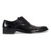 Bennett Lace Up Leather Shoes in Black