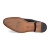 Bennett Double Monk Leather Shoes in Black - Ron Bennett Menswear  - 5