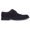 Bennett Suede Lace Up Shoes in Dark Navy