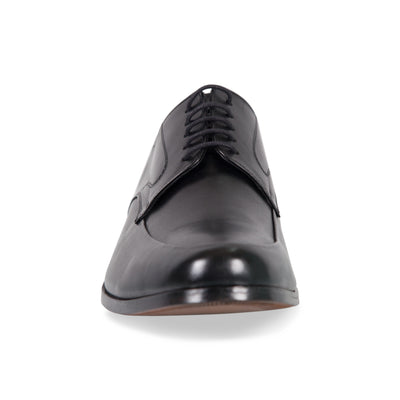 Bennett Lace Up Shoes in Black in Black - Ron Bennett Menswear  - 2