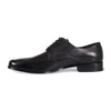 Bennett Lace Up Shoes in Black in Black - Ron Bennett Menswear  - 3