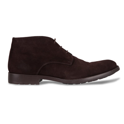 Bennett Suede Chukka Boots in Brown - Ron Bennett Menswear  - 1