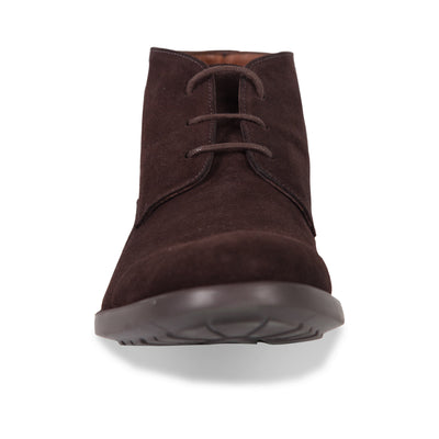 Bennett Suede Chukka Boots in Brown - Ron Bennett Menswear  - 2