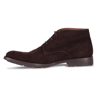 Bennett Suede Chukka Boots in Brown - Ron Bennett Menswear  - 3
