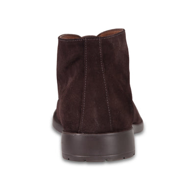 Bennett Suede Chukka Boots in Brown - Ron Bennett Menswear  - 4
