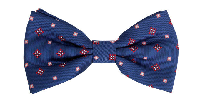 Ron Bennett Bow Tie in Royal - Ron Bennett Menswear