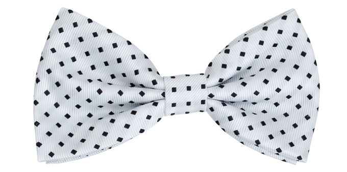 Ron Bennett Bow Tie in White - Ron Bennett Menswear