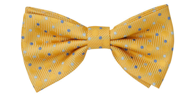 Ron Bennett Bow Tie in Yellow - Ron Bennett Menswear