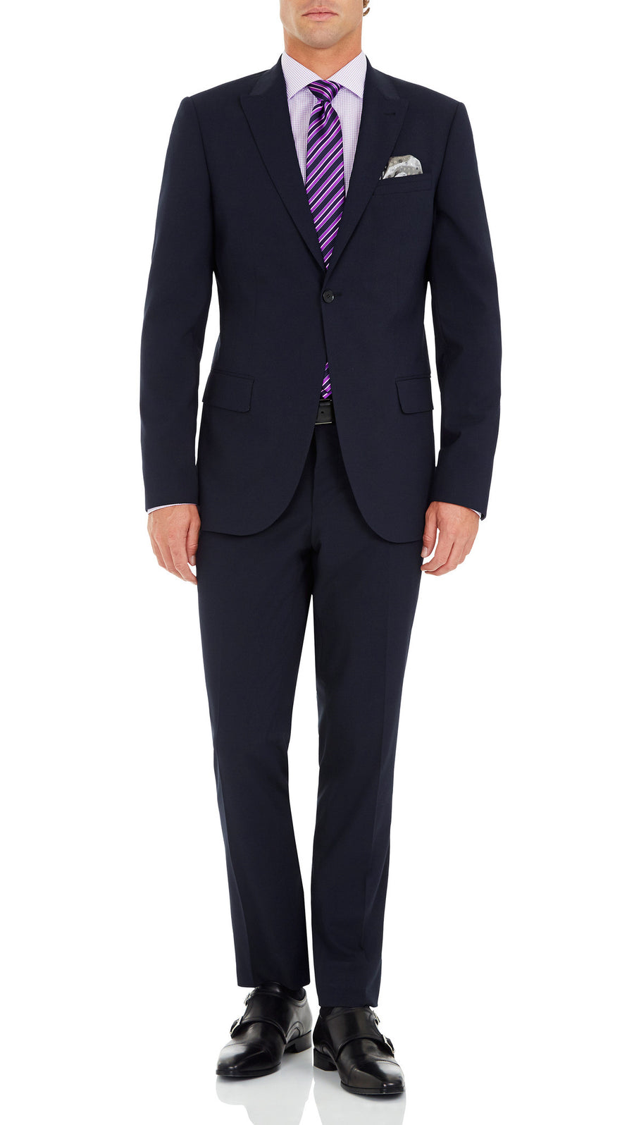 "Blackjacket ""Caprice"" Slim Fit Suit in Navy - Ron Bennett Menswear  - 2"