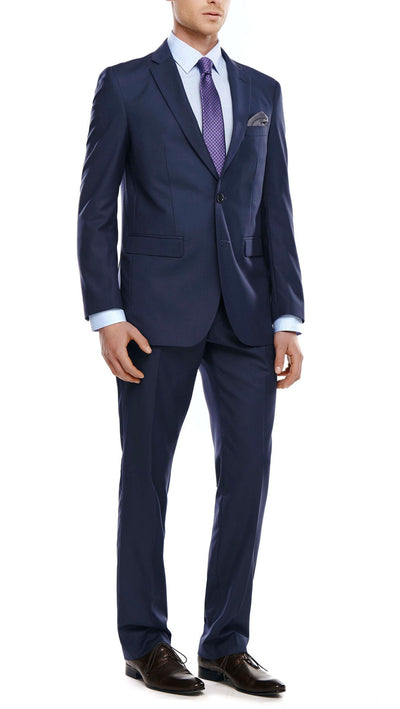 Marcellotino Slim Fit Suit in Navy