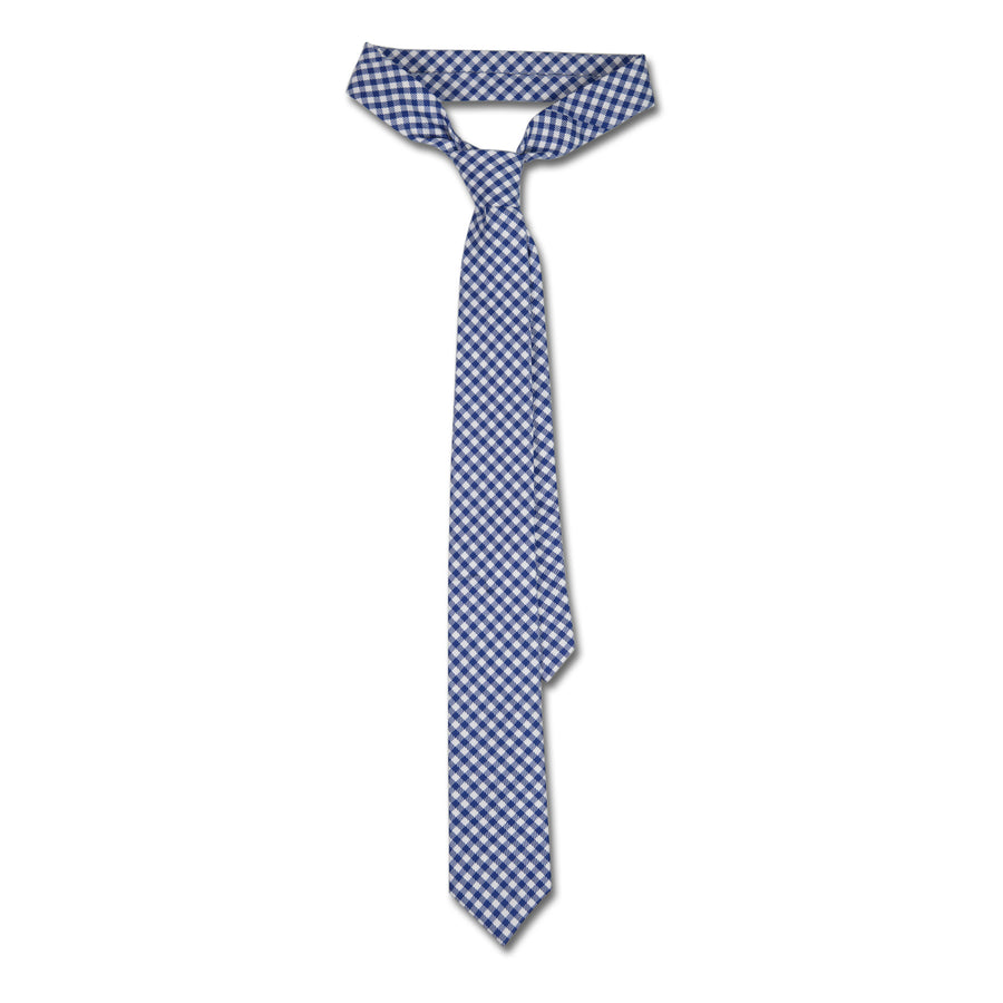 James Derby Italian Made Tie in Light Blue - Ron Bennett Menswear