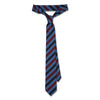 James Derby Italian Made Tie in Dark Grey - Ron Bennett Menswear