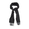 James Derby Italian made Scarf in Charcoal