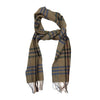 James Derby Italian made Scarf in Green - Ron Bennett Menswear