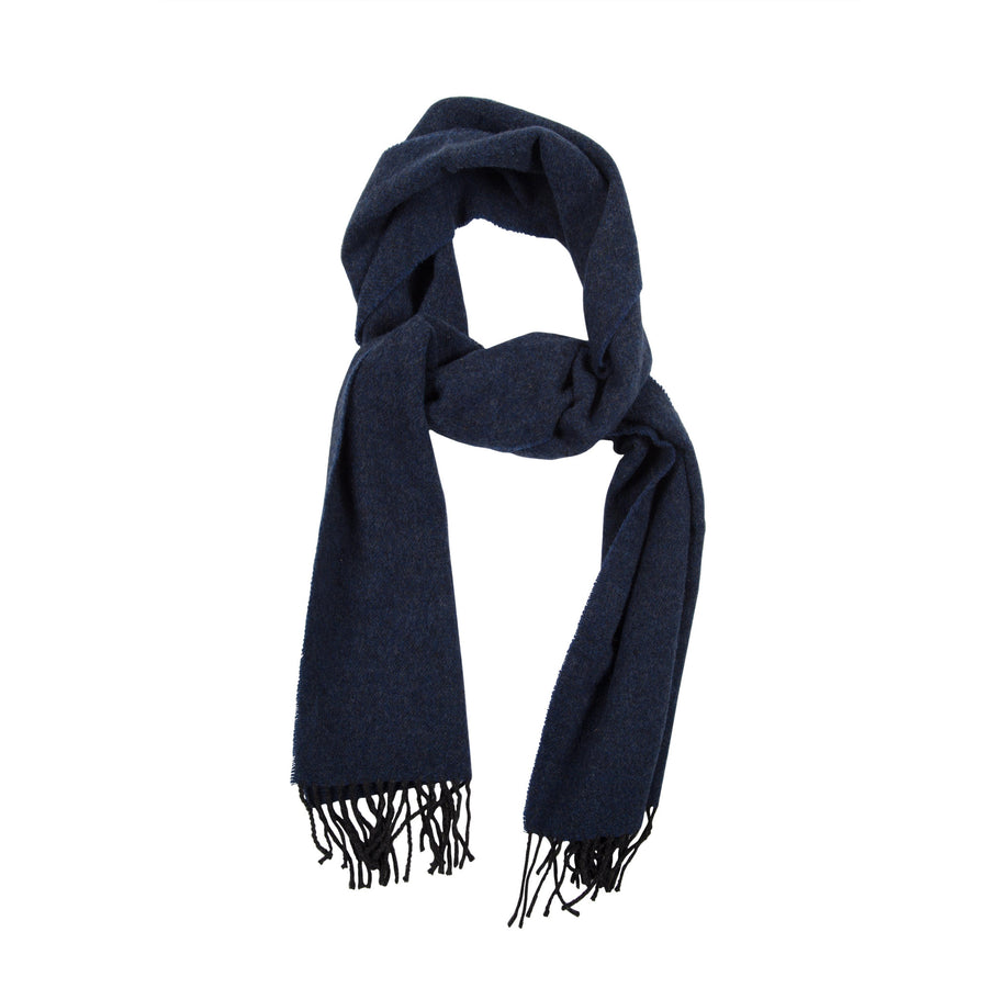 James Derby Italian made Scarf in Dark Blue