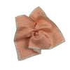 James Derby Silk Pocket Square in Orange - Ron Bennett Menswear