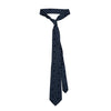 James Derby Silk Tie in Navy/Sky - Ron Bennett Menswear