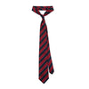 James Derby Silk Tie in Navy/Red - Ron Bennett Menswear