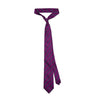 James Derby Silk Tie in Purple - Ron Bennett Menswear