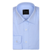 Bennett Signature Business Shirt in Sky - Ron Bennett Menswear  - 1