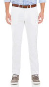 Bennett Cotton Chinos in White