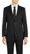 Nicholby & Harvard Slim Fit Suit in Black - Ron Bennett Menswear  - 3