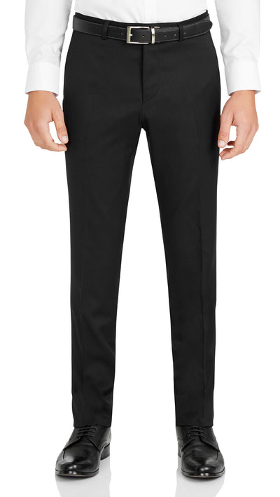Nicholby & Harvard Slim Fit Suit in Black - Ron Bennett Menswear  - 5