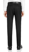 Nicholby & Harvard Slim Fit Suit in Black - Ron Bennett Menswear  - 6