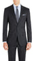 Nicholby & Harvard Slim Fit Suit in Charcoal