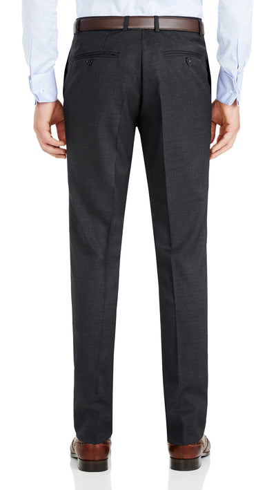 Nicholby & Harvard Slim Fit Suit in Charcoal - Ron Bennett Menswear  - 7