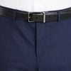 Nicholby & Harvard Dress Trousers in Blue - Ron Bennett Menswear  - 3