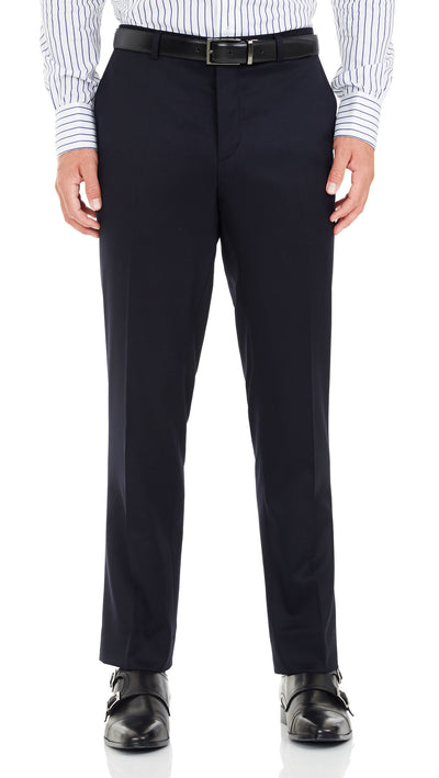 Nicholby & Hardvard Slim Fit Suit in Navy - Ron Bennett Menswear  - 5