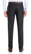 Nicholby & Harvard Dress Trousers in Charcoal - Ron Bennett Menswear  - 2
