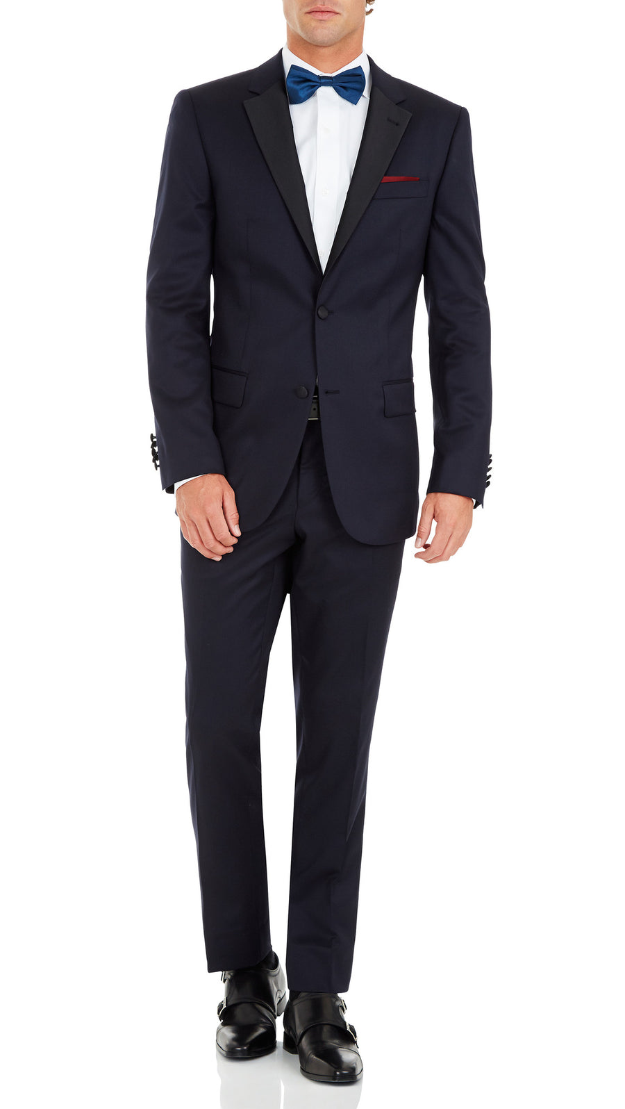 Bennett Signature Navy Dinner Suit - Ron Bennett Menswear  - 2