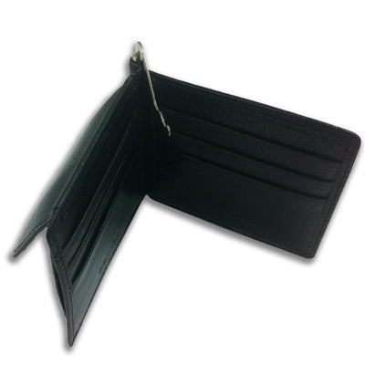Bennett Leather Wallet in Black - Ron Bennett Menswear  - 2