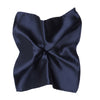 Ron Bennett Pocket Square in Navy - Ron Bennett Menswear