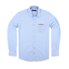 CEO Slim Fit Smart Casual Shirt in Sky - Ron Bennett Menswear  - 1