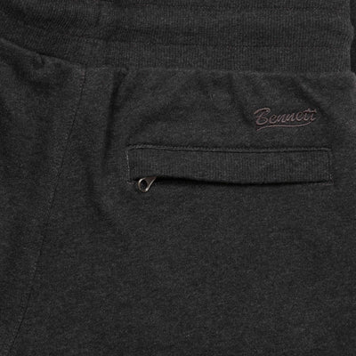 Bennett Casual Sweatpant in Charcoal Marle - Ron Bennett Menswear  - 3
