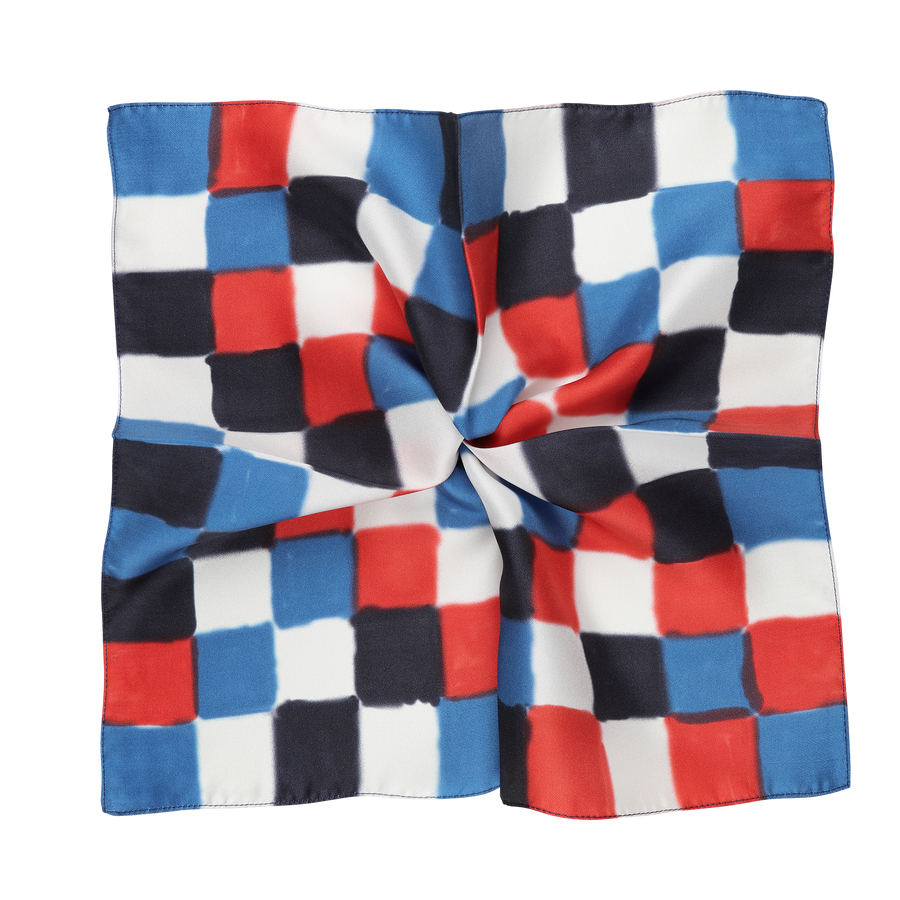 James Derby Silk Pocket Square