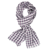 James Derby Italia Linen Scarf in Mauve - Ron Bennett Menswear