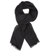 James Derby Italia Scarf in Charcoal - Ron Bennett Menswear  - 1