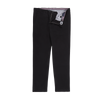 Bennett Stretch Washed European Cotton Chino in Black - Ron Bennett Menswear  - 1